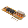 3pcs RXB12 315Mhz/433Mhz Superheterodyne Receiver Board Wireless Receiver Module High Sensitivity