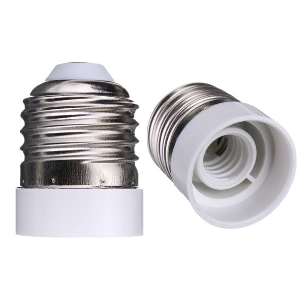 E26 to E12 Base LED Light Lamp Bulb Screw Adapter Converter Socket