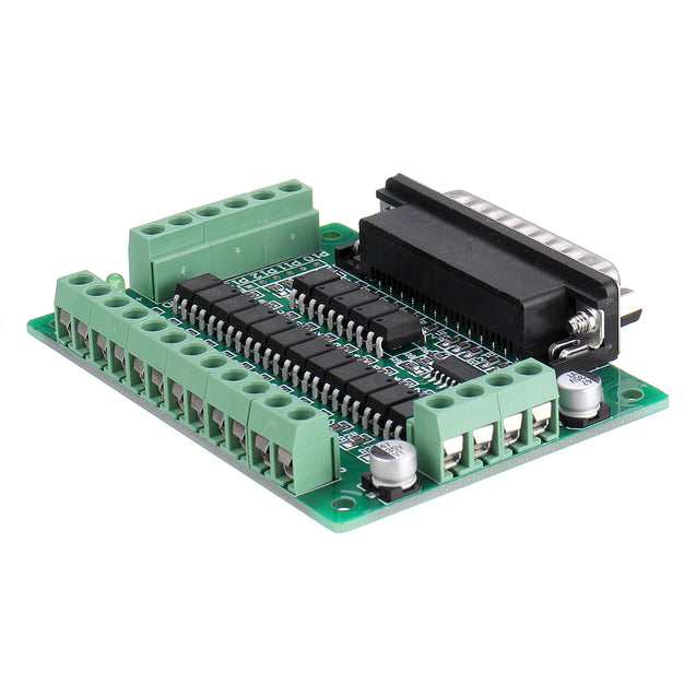 LPT-CNC-A 12 Channel CNC Interface Board Converter EL817 Optical Isolator Support KCAM4/EMC2/Linuxcnc 5V DC