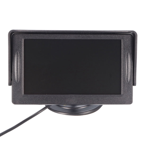 4.3 inch Car TFT LCD Monitor Reversing Parking Rear View Camera Recording VCR Sunshade Kit