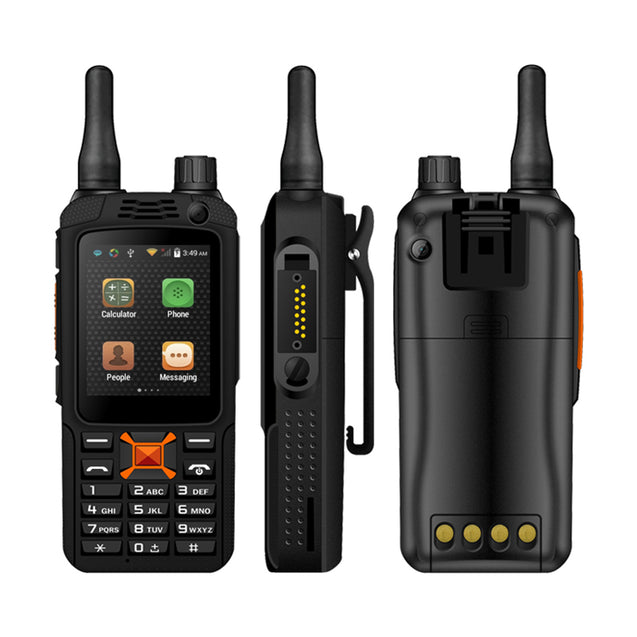 3G Wifi Touch Screen Walkie Talkie USB BT Smartphone GPS Double Cam Zello Rechargeable
