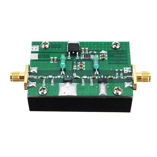 1MHz-1000MHZ 35DB 3W HF VHF UHF FM Transmitter Broadband RF Power Amplifier For Ham Radio
