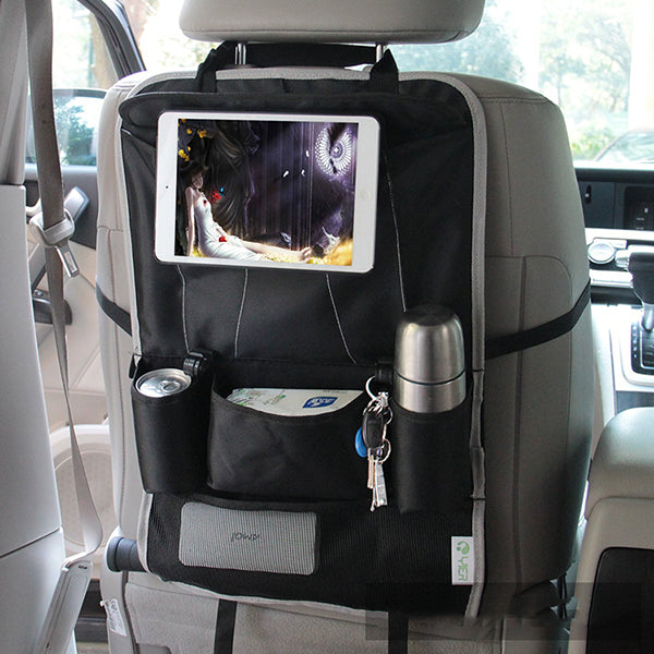 Honana HN-X6 Car Back Seat Organizer Hanging Tissue Box Bottle Sotrage Bag Tablet Holder
