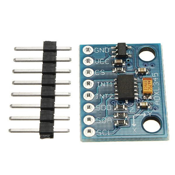 GY-291 ADXL345 3-Axis Tilt Digital Gravity Acceleration Sensor Module For Arduino