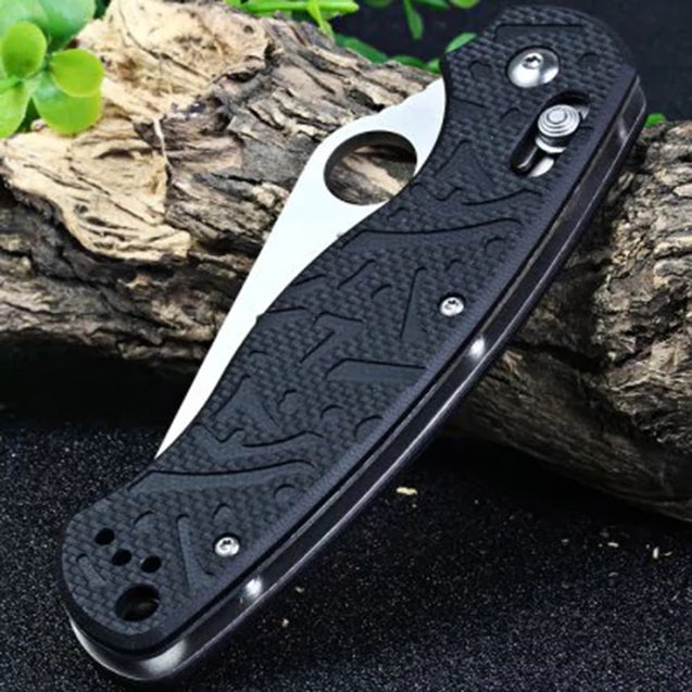 Ganzo G7291-BK 211mm Stainless Steel Mini Folding Knife Axis Lock Knife Outdoor Survial Knife