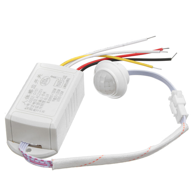 220V 5-8M IR Infrared Body Motion Sensor Automatic Intelligent Light Lamp Control Switch