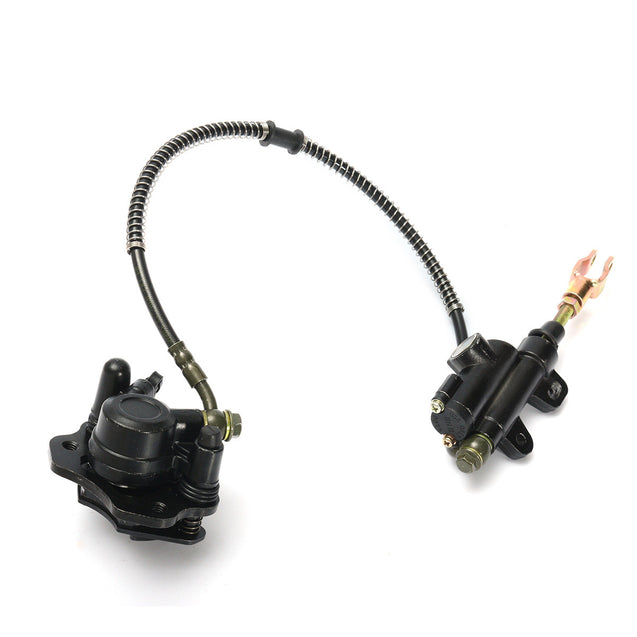 Rear Hydraulic Brake Master Cylinder Caliper 50cc 70cc 90cc 110cc 125cc Chinese ATV Quad
