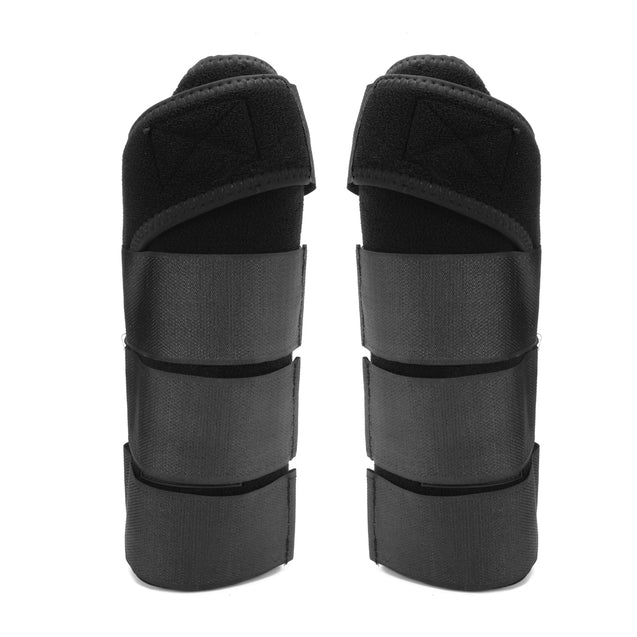 2 Pcs Horse Leg Boots Non Woven Fabric Supportive Boots Front Legs Protection Leg Support