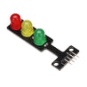 20pcs 5V LED Traffic Light Display Module Electronic Building Blocks Board For Arduino