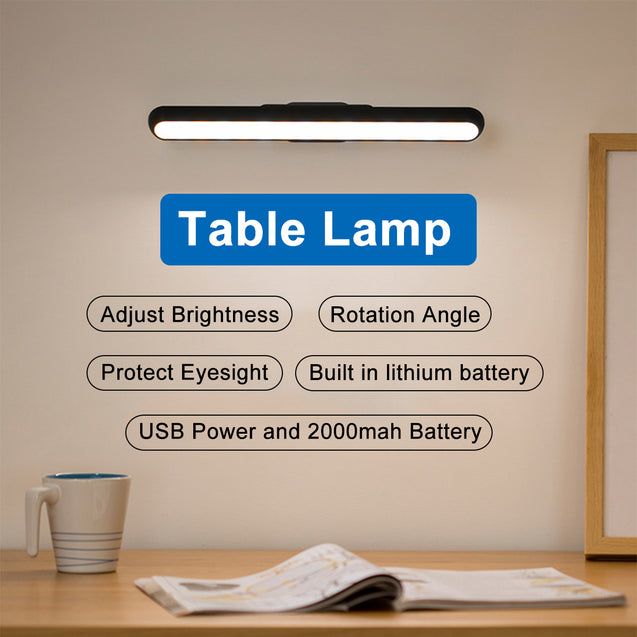 LED Wall Lamp USB Chargeable Dropship Hanging Magnetic Dormitory Reading 3