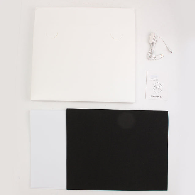 15.8 Inch Light Room Mini Photo Studio Photography Lighting Tent Kit Backdrop Box
