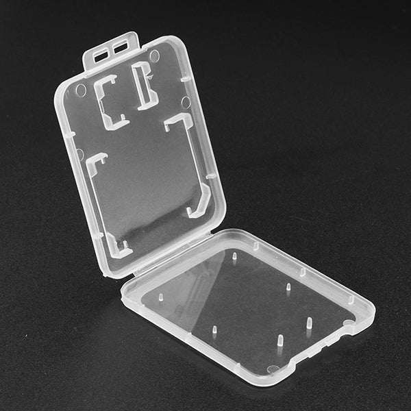 10Pcs TF Card Memory Card Adapter Dual Card Storage Case