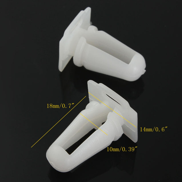 10pcs Door Sill Trim Moulding Fastener Clips Protective Fixing Fastener For BMW