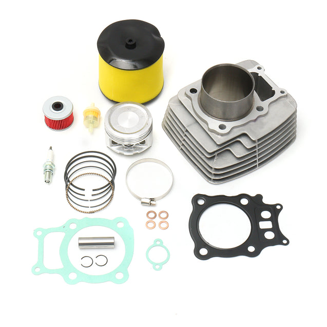 Cylinder Piston Spark Plug Filter Gasket Rings For Honda Rancher TRX350 TRX 350