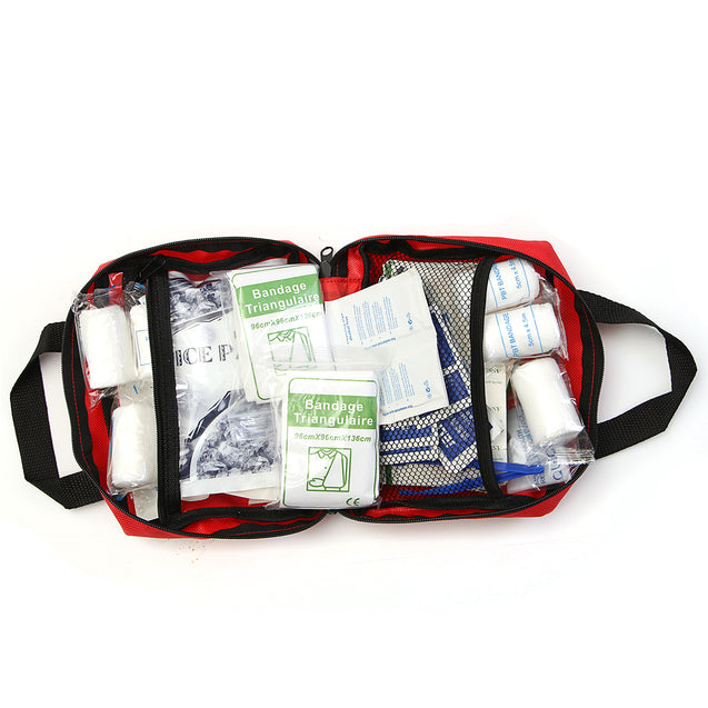 230 Pieces First Aid kit Emergency Set Kit Outdoor Wilderness Survival Medical Treatment P
