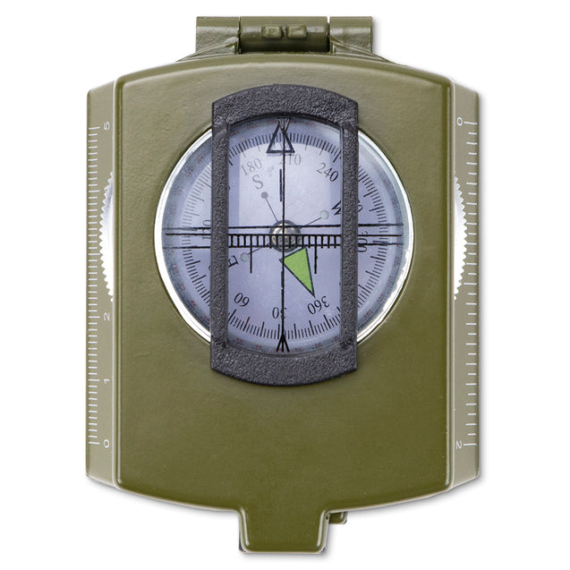 Prismatic Waterproof Military-Style Compass