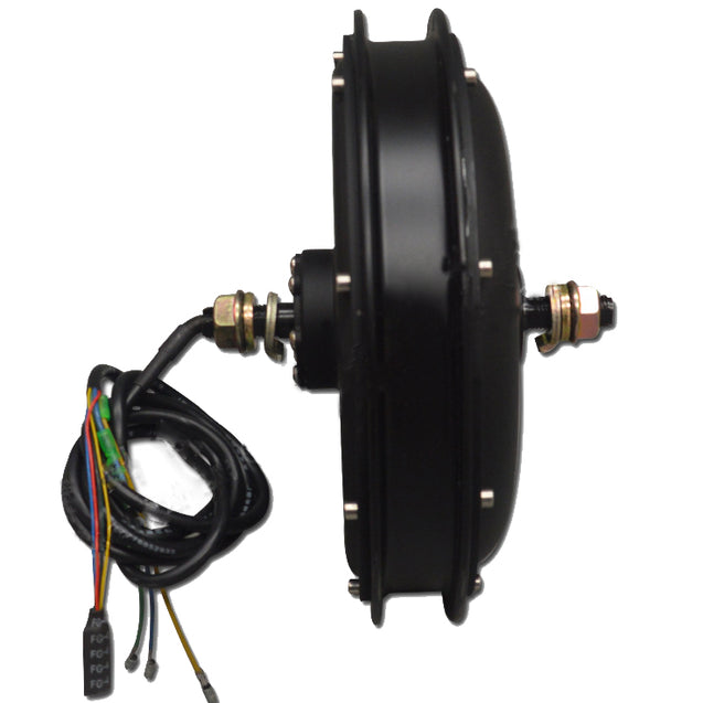Bikight 48V 500W Brushless Toothless Electric Bike Motor For Front Wheel Conversion Motor