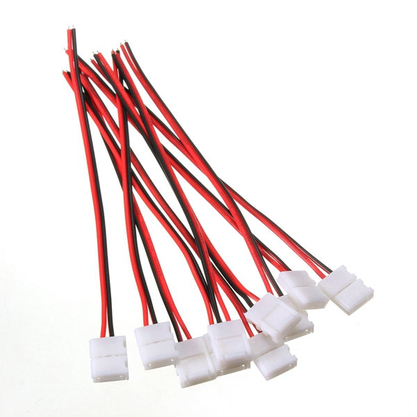 PCB Connector Cable 3528 5050 2 Pin LED Strip Connectors Adapter