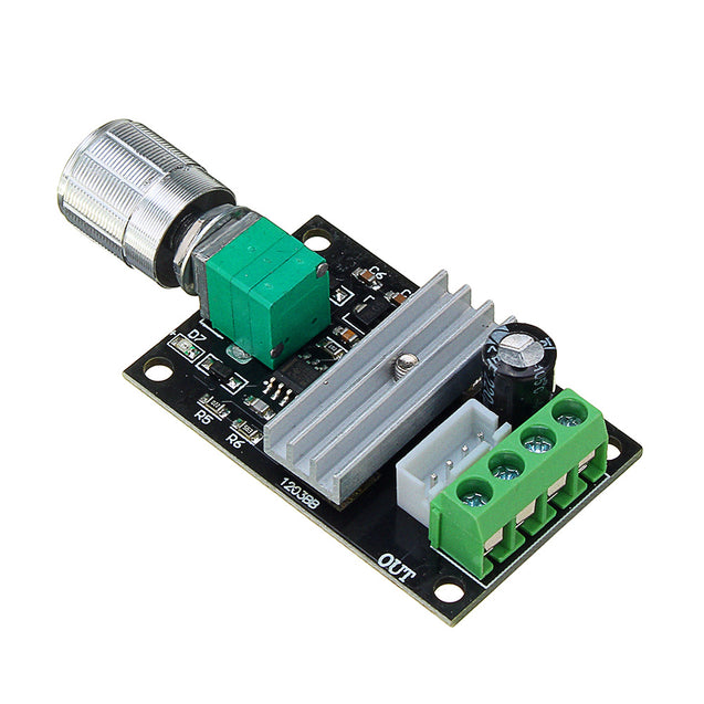 3pcs DC 6V 12V 24V 28V 3A 80W PWM Motor Speed Controller Regulator Adjustable Variable Speed Control Switch