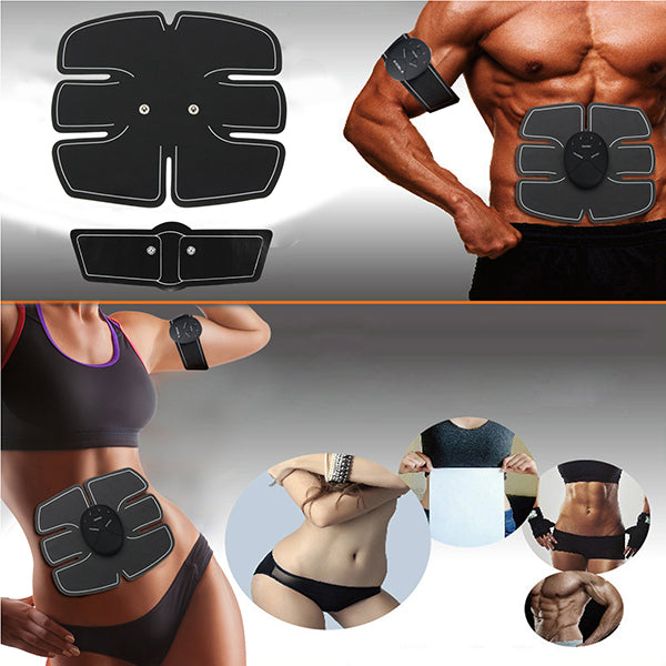 KALOAD Abdomen/Arm Muscle Stimulator EMS Training Electrical Body Shape Trainer