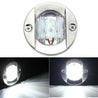 12V 2.2W 147LM LED Marine Boat Light Transom Stainless Steel Anchor Stern Light Waterproof
