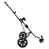 2 Wheel Golf Push Cart Outdoor Foldable Golf Trailer Aluminum Golf Carrier Golf Trolley Sport