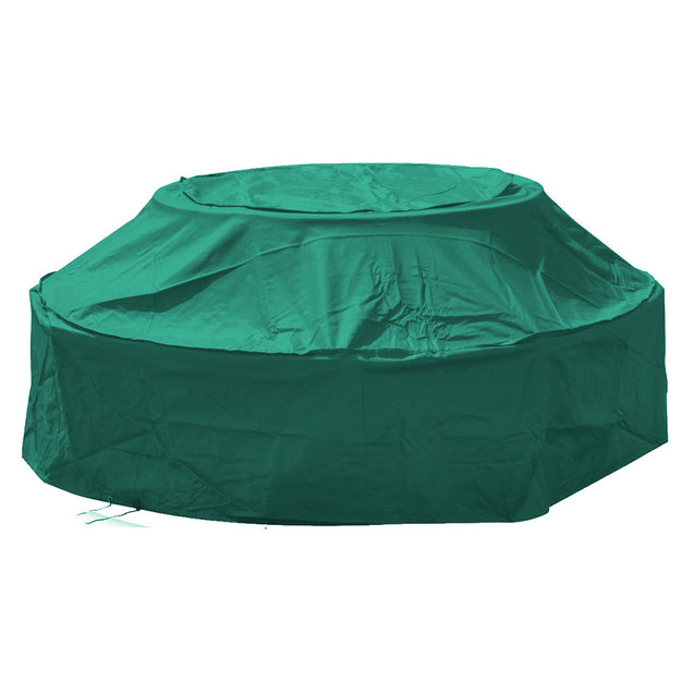 180x76cm 8 Seater Round Picnic Table Cover Outdoor Waterproof Heavy Duty Dust Protector