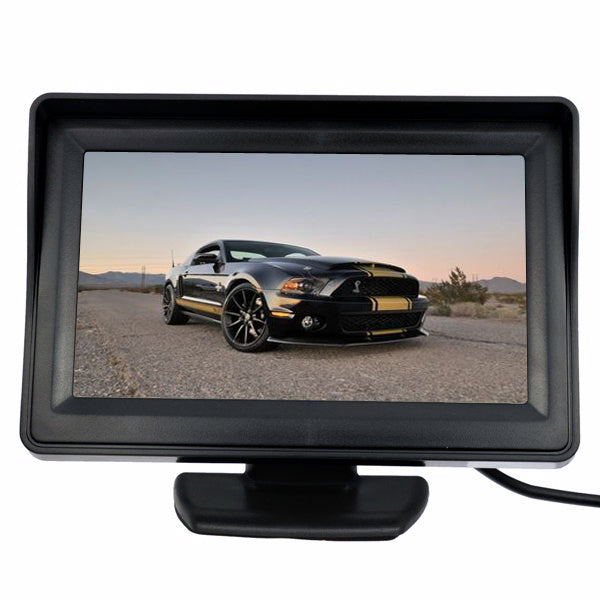 4.3 Inch TFT LCD Car Rear View System Kit Monitor&IP Night Vision Reversing Camera