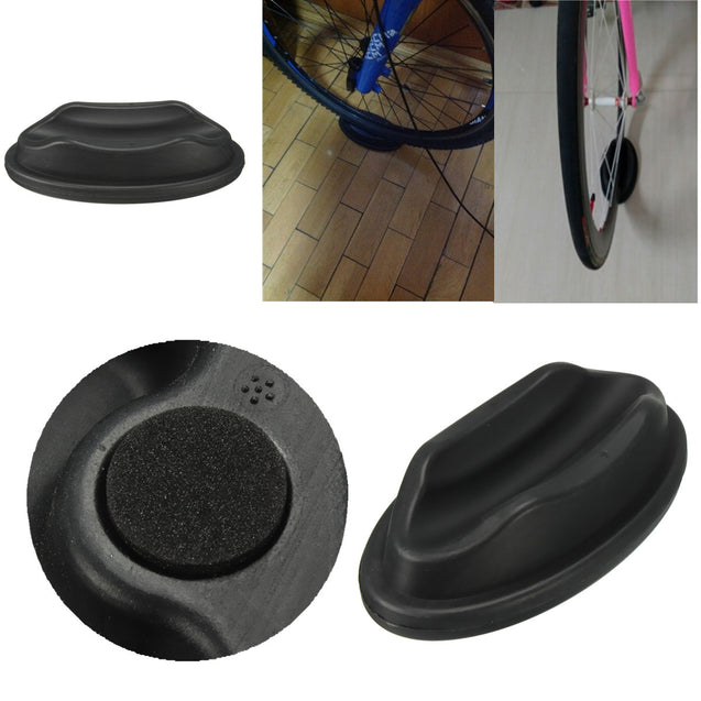 BIKIGHT Bicycle Bike Front Wheel Support Riser Block For Turbo Trainer Training Black