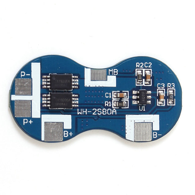 2S Li-ion 18650 Lithium Battery Charger Protection Board