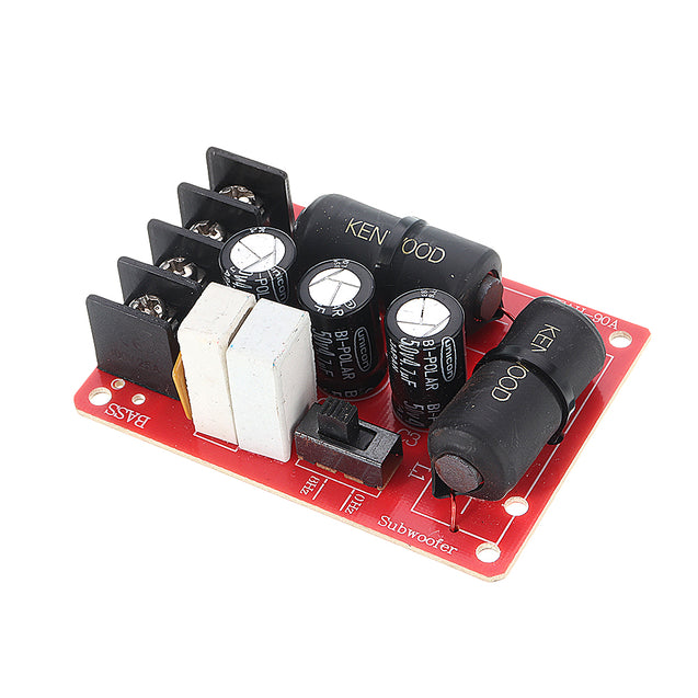 WEAH-90A 200W Audio Speaker Subwoofer Crossover Solderless Bass Frequency Divider Module