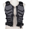 TF3 Multifunction Tactical Vest Airsoft Protective Waistcoat Adjustable Molly System CS Wargame Vest