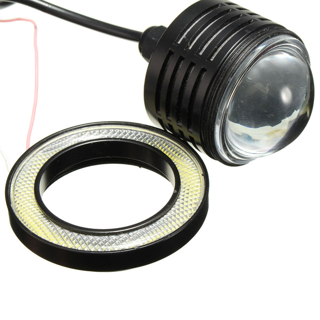 Wireless Control 3inch LED RGB Color Fog Lights White Angel Eye Rings Car Light