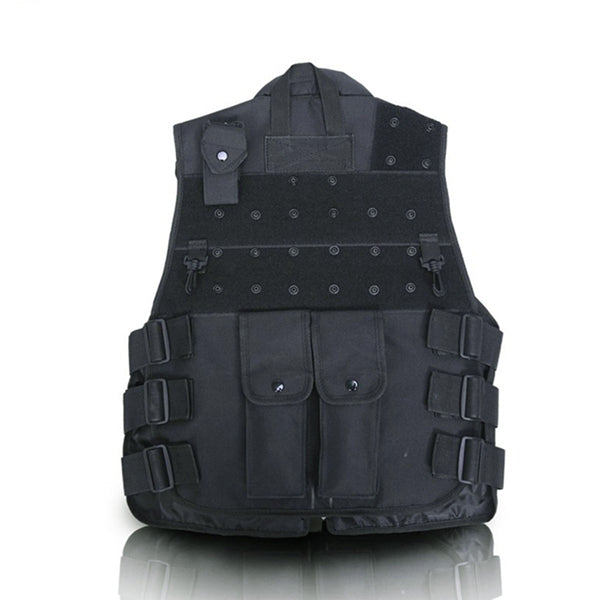 Multifunctional Outdoor Fishing Vest Tactical Multi Pocket Vest Hunting Camping And Hiking