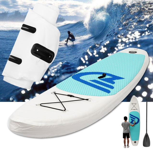 10 Feet Inflatable Surfboard Stand Up Paddle Board SUP Paddleboard Kayak Surf Board