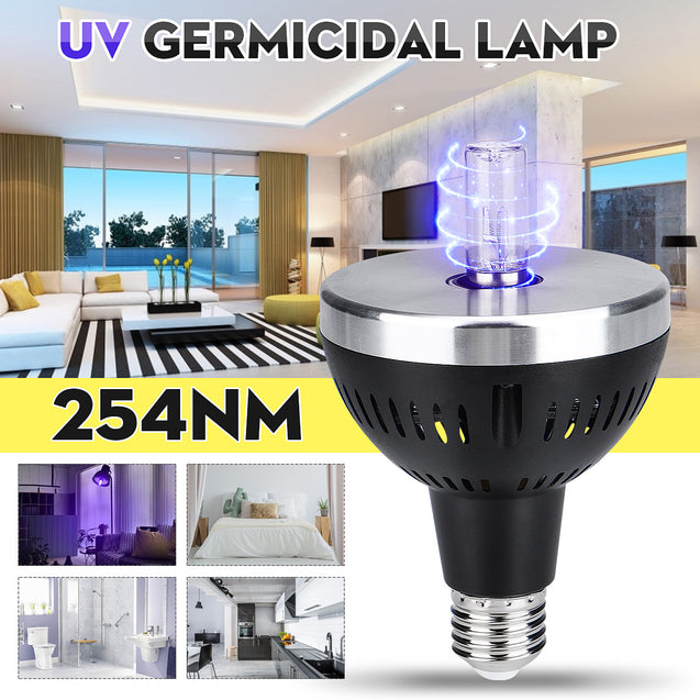 E27 UV Germicidal Lamp For Home Bedroom Bathroom Kitchen Disinfection Light Bulb