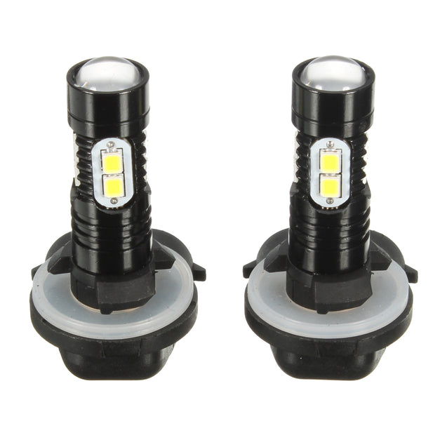 Pair 881 889 10W 1000LM 6000K White LED Car Fog Lights DRL Daytime Running Lights