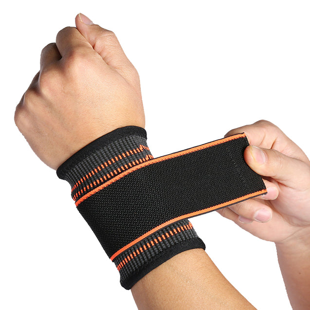 1 Pcs Wrist Support Hand Brace Nylon Adjustable Hand Palm Brace Wrist Pad Glove Sleeve Safety Gear