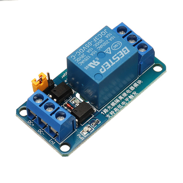 3pcs BESTEP 1 Channel 5v Relay Module High And Low Level Trigger For Arduino