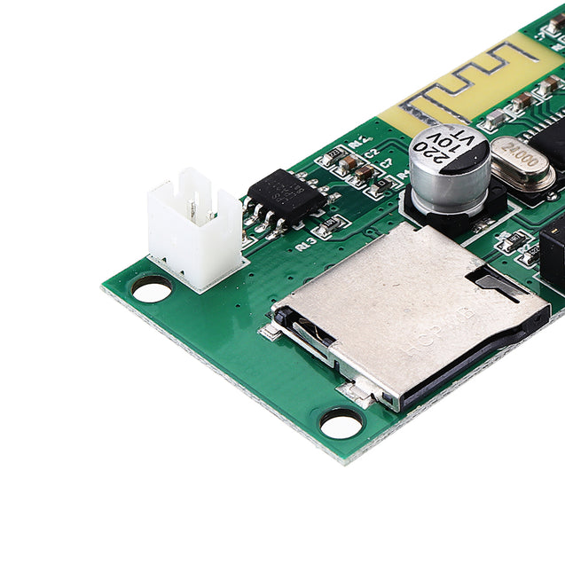 5W DC 3.7V 5V Bluetooth Audio MP3 Decoder Amplifier Module Stereo Wireless Lossless Music Player