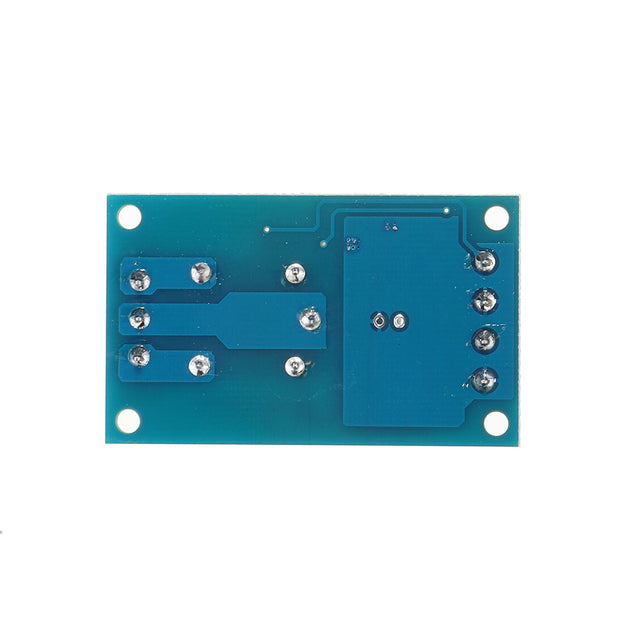 3pcs DC 5V Single Bond Button Bistable Relay Module Modified Car Start and Stop Self-Locking Switch One Key