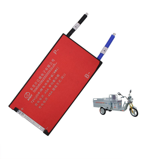 BIKIGHT Cycling Electric Bike 3.7V Li-ion 20S 72V 45A Battery Protection Board Xiaomi Motorcycle E-b