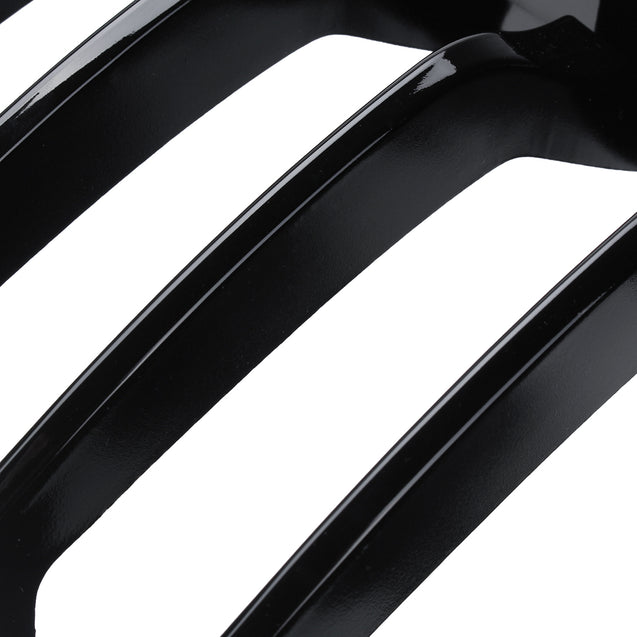 Car Gloss Black Kidney Grill Grille For BMW 4 Series F32 F33 F36 F82 Models Coupe