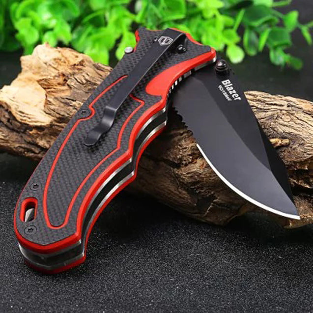 HARNDS CK7006 244mm 9Cr18Mov Stainless Steel Outdoor Folding Knife Portable Camping Fishing Knives
