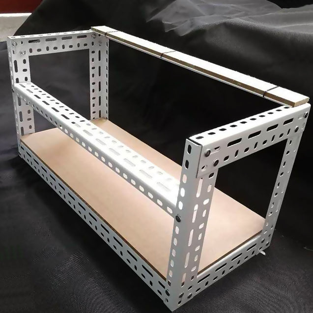 DIY Aluminum Frame For 4 GPU Mining Crypto-currency Mining Rigs