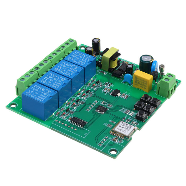 AC0-250V Ewelink WiFi Remote Intelligent Relay Module Motor Forward and Reverse Controller Support Phone Remote Control