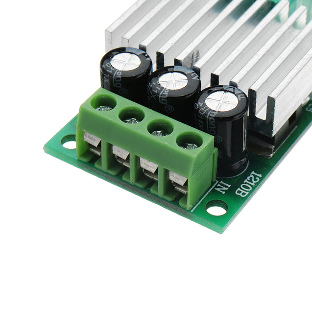 3pcs DC 12V To 24V 10A High Power PWM DC Motor Speed Controller Regulate Speed Temperature