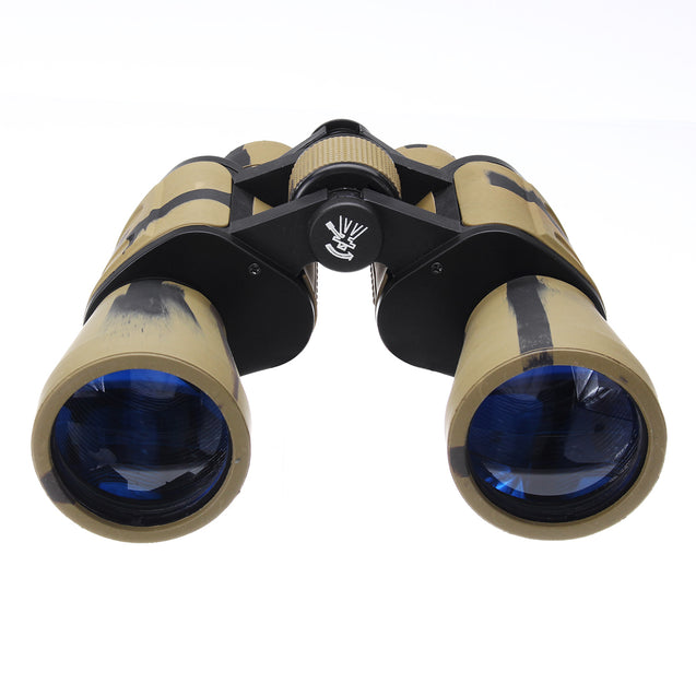 20x50 Outdoor Tactical Binoculars HD BAK4 Optic Day Night Vision Telescope Camping Hiking Travel