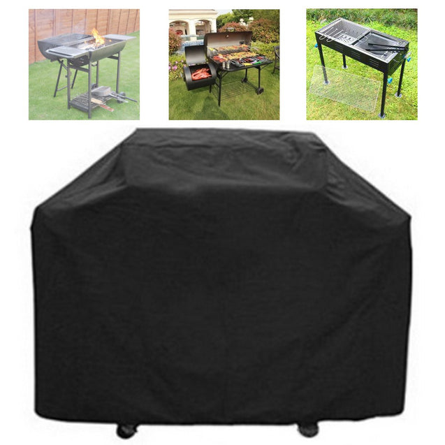 59 Inch BBQ Grill Barbecue Waterproof Cover Heavy Duty UV Protector Outdoor Yard Camping