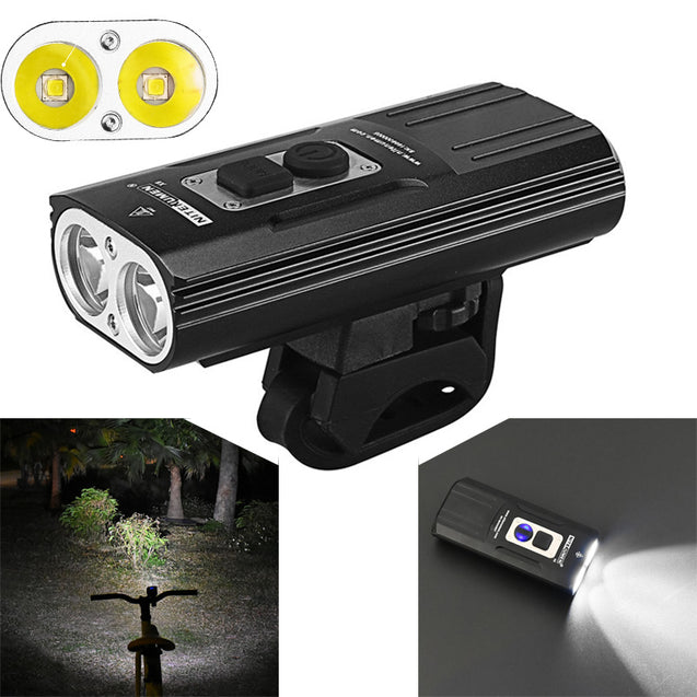 NITENUMEN X8 1800LM 2x U2 USB Waterproof Cycling Bike Bicycle Motorcycle XIAOMI Scooter Light